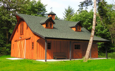 Great American Barns Barn Plans Barn Kits And Barn: american barn style kit homes