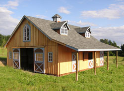 Great american barns gorgeous wood barns and barn for American barn style kit homes